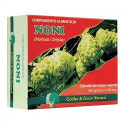 Noni 60 Cápsulas Golden Green