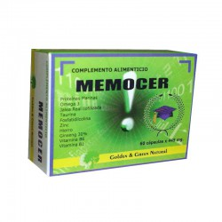 Memocer 60 Cápsulas Golden Green
