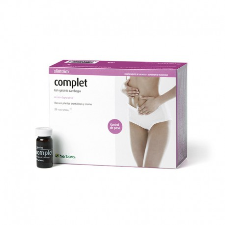 SLIM TRIM COMPLET 20 VIALES 10Ml. HERBORA