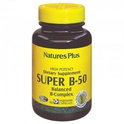 SUPER B-50 60 CAPSULAS NATURE´S PLUS