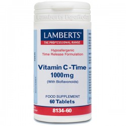 VITAMINA C 1.000Mg./BIOF. 60 TABLETAS LAMBERTS