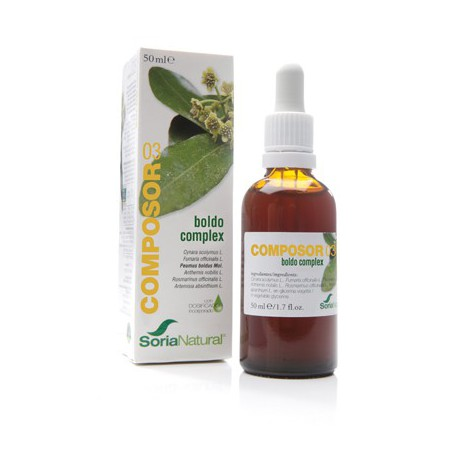 Composor 3 Boldo Complex 50Ml. Soria Natural