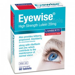 EYE WISE LUTEINA PURA 20Mg. 60 TABLETAS LAMBERTS