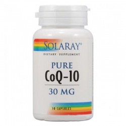 PURE COQ10 30Mg. 30 CAPSULAS SOLARAY