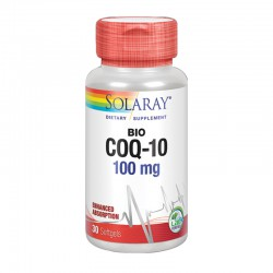 COQ-10 100Mg. 30 PERLAS SOLARAY