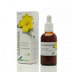 Damiana Extracto 50Ml Soria Natural