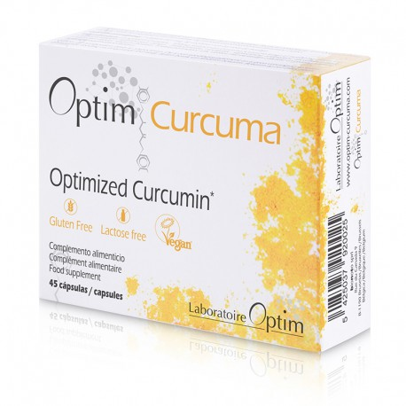 Optim Curcuma 45 C?psulas