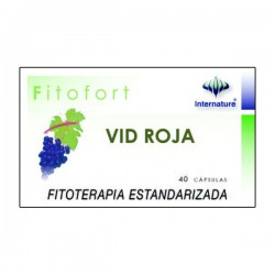 FITOFORT VID ROJA 40 CAPSULAS INTERNATURE