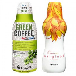 Pack Green Coffee y Drenafast Biocol