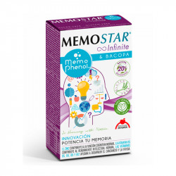MEMOSTAR INFINITE 60 CAPSULAS INTERSA