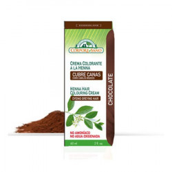 CREMA COLOR CABELLO CHOCOLATE 60Ml. CORPORE SANO