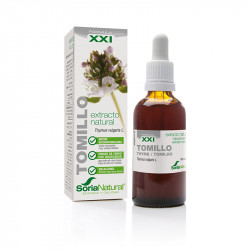 EXTRACTO DE TOMILLO FORMULA XXI 50Ml. SORIA NATURAL