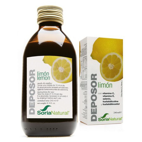 Deposor Limón 240Ml Soria Natural