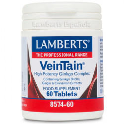 VEINTAIN (GINKGO+CANELA+GINGER) 60 TABLETAS LAMBERTS