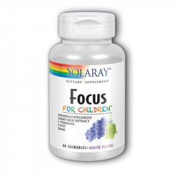 FOCUS FOR CHILDREN 60 COMPRIMIDOS MASTICABLES SOLARAY