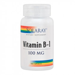 VITAMIN B-1 100Mg. 100 CAPSULAS SOLARAY
