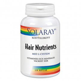 HAIR NUTRIENTS 120 CAPSULAS SOLARAY